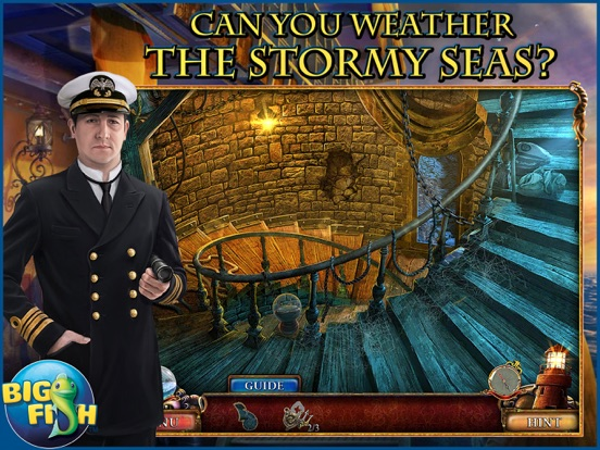 Screenshot #1 for Sea of Lies: Tide of Treachery - A Hidden Object Mystery (Full)