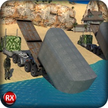 Army Bridge Building - A Realistic Driving and Parking Construction Operator