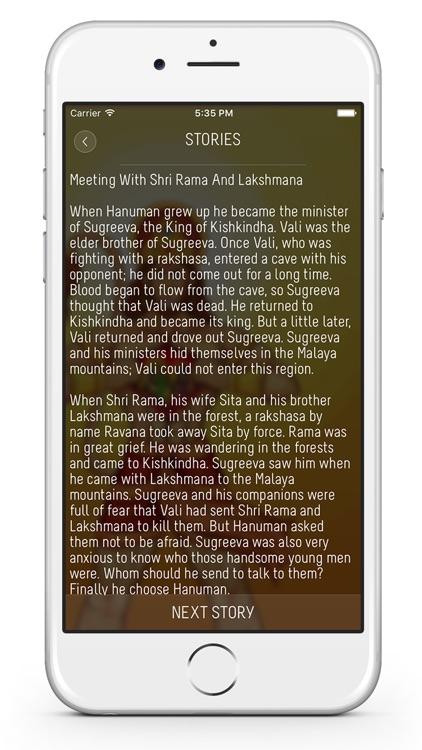Lord Hanuman : Mantras, Stories, Songs, Wallpapers, Hanuman Temples screenshot-3