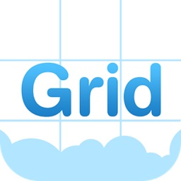 Grid Style for Instagram - Instagrid Post Banner sized full size Big Tiles for IG