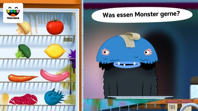 Screenshot for Toca Küchenmonster in Germany App Store