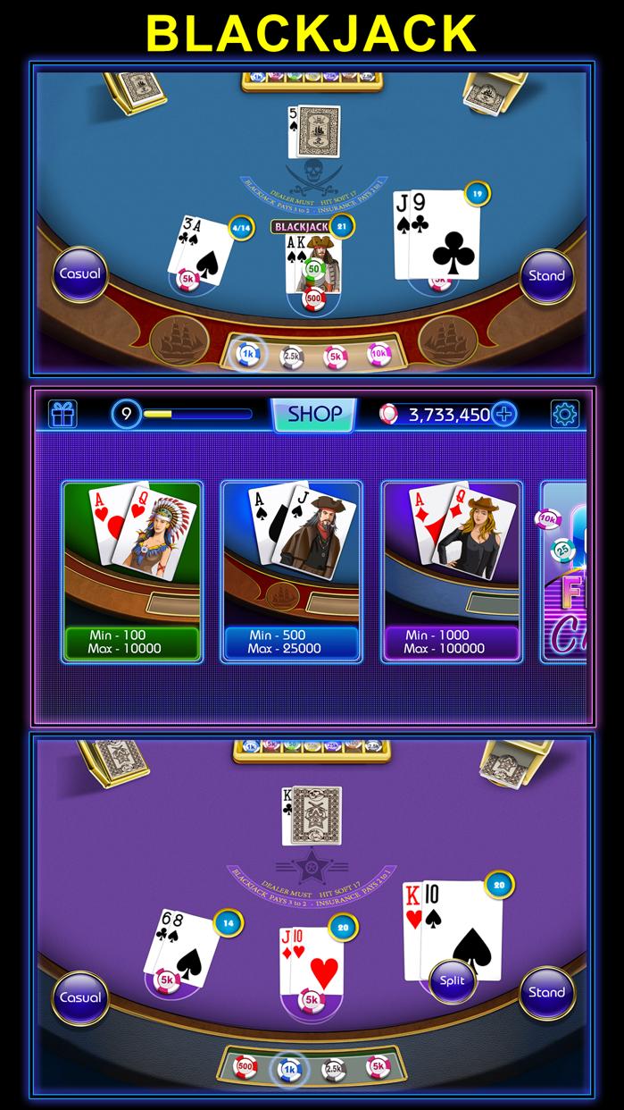 Blackjack - blackjack 21 Casino Style black jack Screenshot