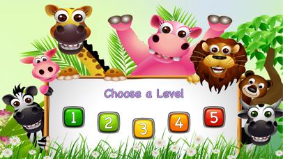 Animal & Zoo Jigsaw Cartoon Puzzle For Kids screenshot one