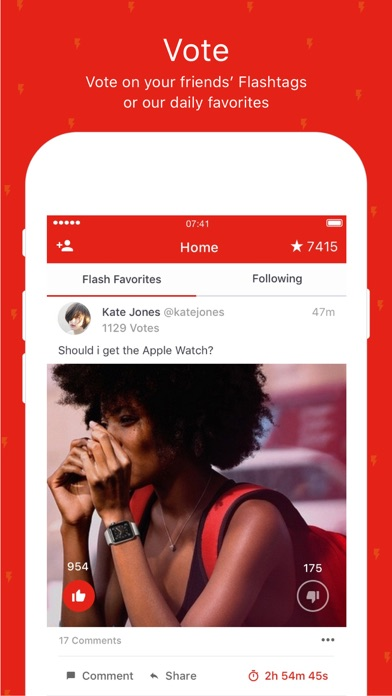 Flashtag - Get quick opinions screenshot one
