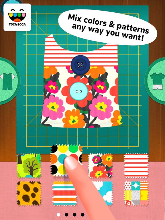 Toca Tailor screenshot