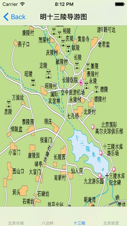 北京旅游景点地图大全-导游图|旅游线路图|景点图片集