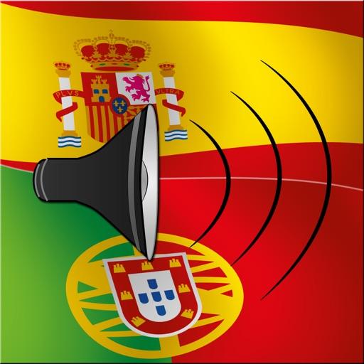 Spanish / Portuguese Talking Phrasebook Translator Dictionary - Multiphrasebook