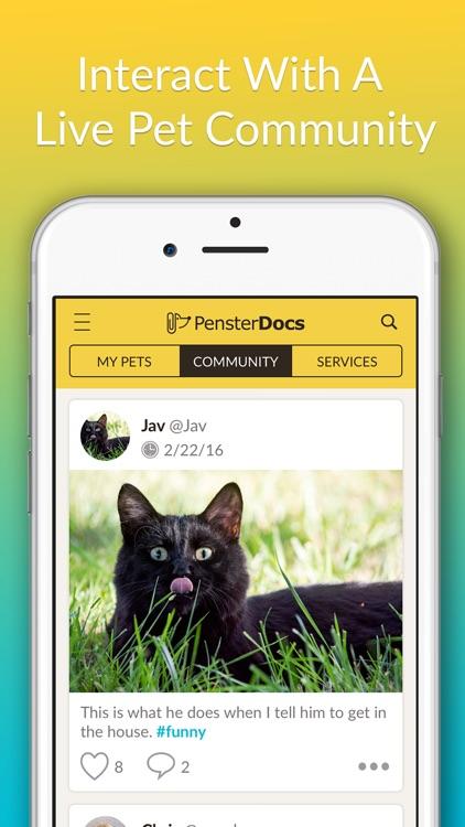 PensterDocs – Pet records and service locator
