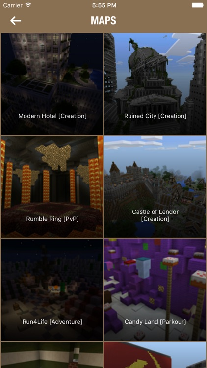 Maps for Minecraft Pocket Edition Free