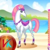 Make Horse Beautiful - White Horse