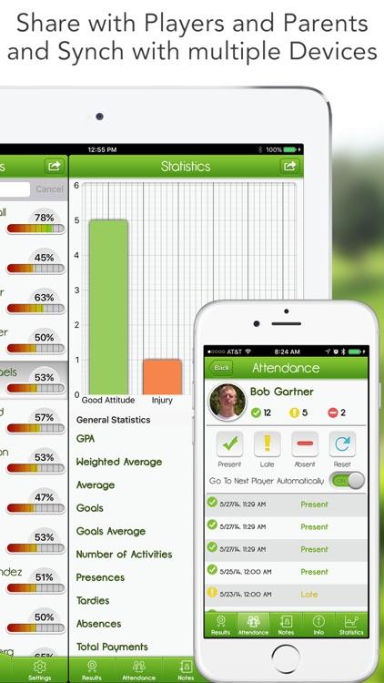 iGrade for Hockey Coach screenshot-4