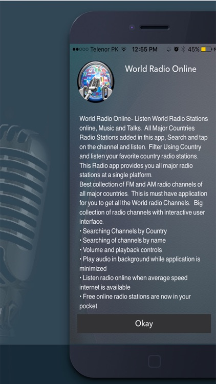 World Radio Online Pro,Radio Stations Listen AM FM