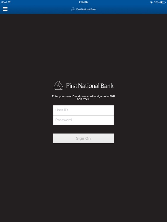 FNB FOR YOU! for iPad