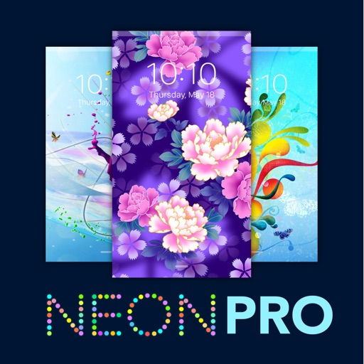 Neon Wallpapers Pro - Colorful & vibrant backgrounds iOS App
