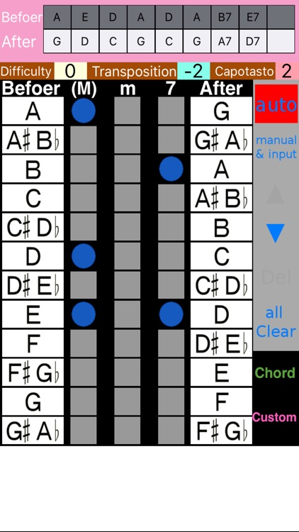 Ukulele Chord Changer screenshot-0