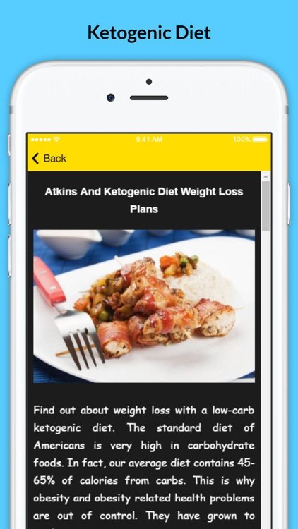 Ketogenic Diet - Atkins Weight Loss Plans