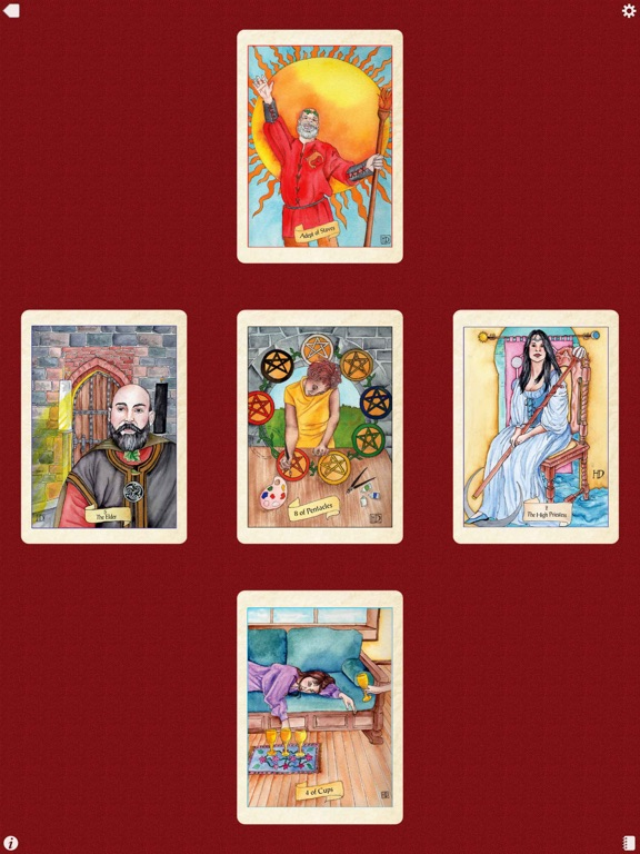 Fellowship of the Fool Tarot-ipad-4