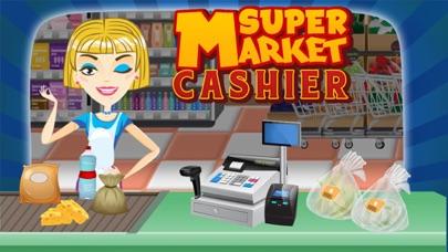 cajera de supermercado - manejar la caja registradora en este juego de simulación para los niñosCaptura de pantalla de1