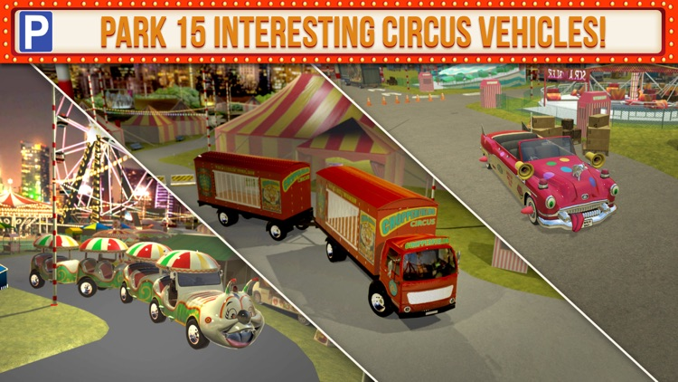 Amusement Park Fair Ground Circus Trucker Parking Simulator screenshot-4