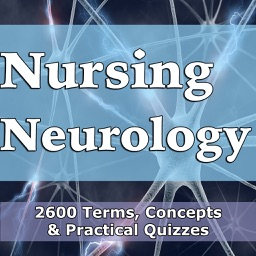 Nursing Neurology Practice Test/2600 Flashcards Study Notes, Terms, Concepts & Quizzes