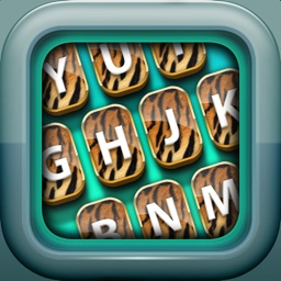 Animal Print Keyboard – Zoo Skins and Fashion Background Themes for Custom Keyboards