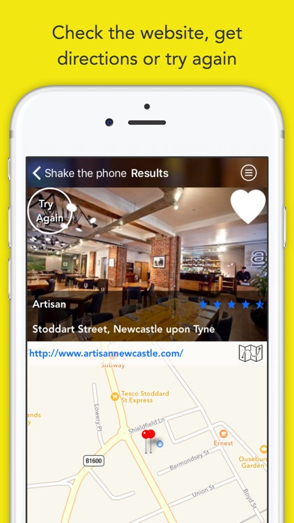 Randow: Nearest Restaurant & Takeaway Finder With Map Support – Discover Random Local Food & Drink Nearby screenshot-4