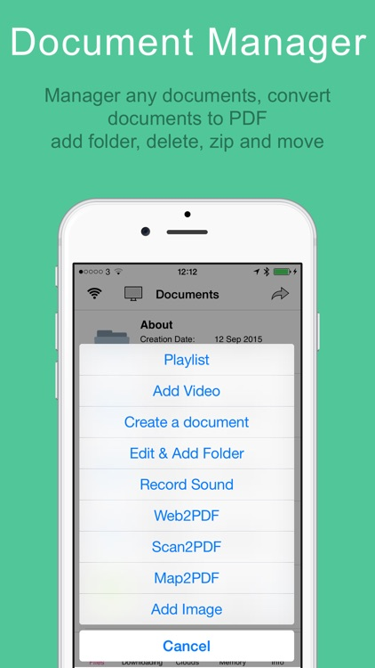 Video Player and  Document Manager PRO, Watch Videos Online and Offline screenshot-0