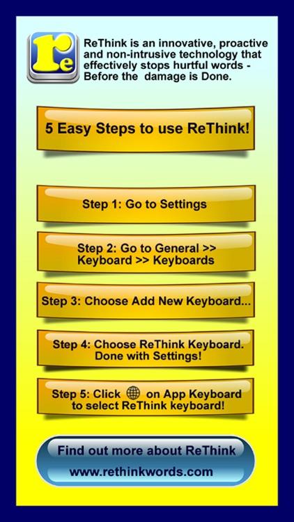 ReThink - Stop Cyberbullying
