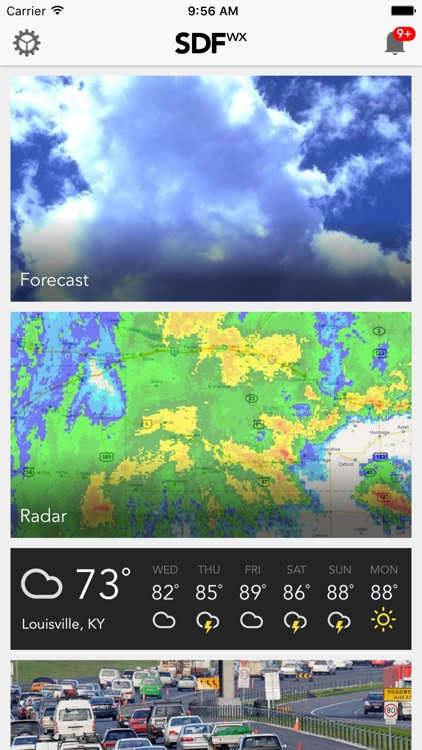 LOUwx Louisville KY Weather Forecast Traffic Radar by
