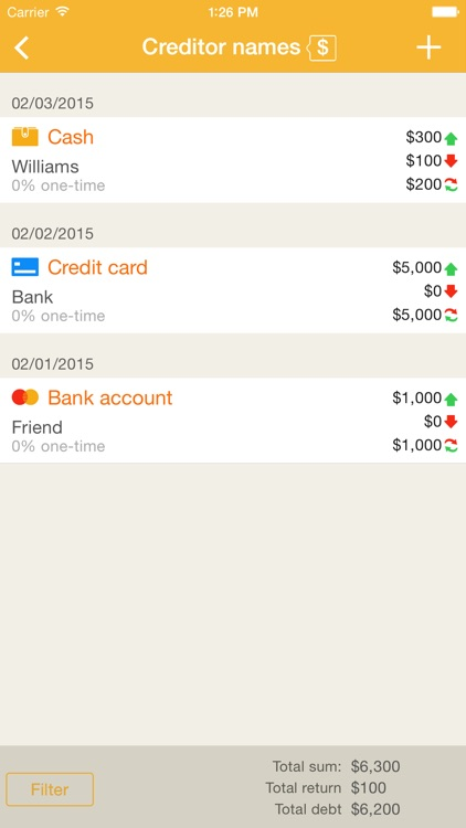 Home Bookkeeping screenshot-3