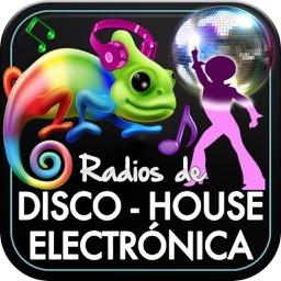 Emisoras de Radio de Música Disco House y Electrónica
