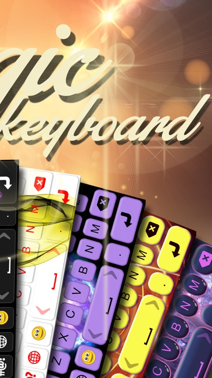 Magic Keyboard Maker – Custom Color Keyboards with New Backgrounds and Fonts