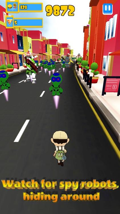Robot Clash Run - Fun Endless Runner Arcade Game! screenshot-3