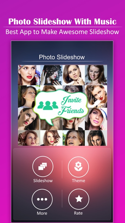 Photo Slideshow with Music - Amazing Pictures Slideshow Maker with Music