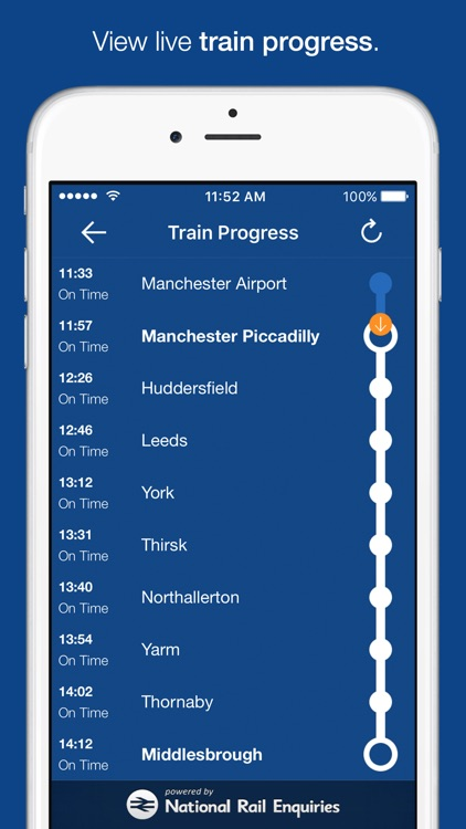 myTrains Pro train times and tickets screenshot-4