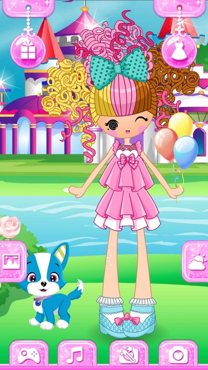 Dress up! Dolls – Fun Game for Girls and Kids screenshot-3