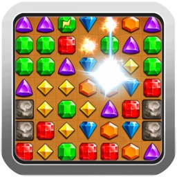 Puzzle Jewels World - Match 3 Jewels Candy Mania