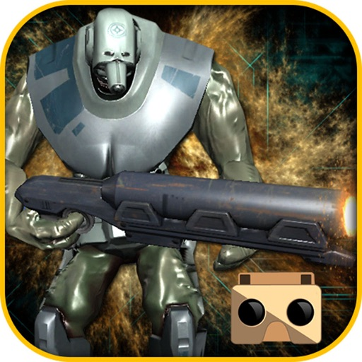 VR Lone Rival Shooter - Robots Action 3D icon