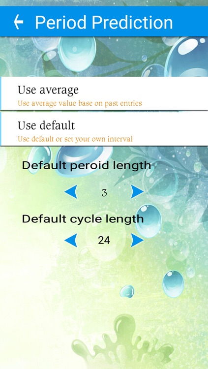 Fertility tracker, Cycle tracker screenshot-3