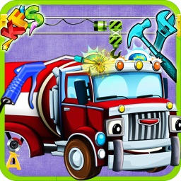 Build a Fire Truck – Design & decorate firefighter vehicle in this kid's fun game