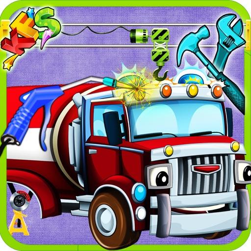 Build a fire truck design decorate firefighter vehicle for Truck design app