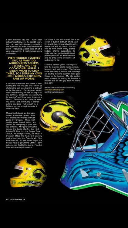 Pinstriping & Kustom Graphics Magazine screenshot-3