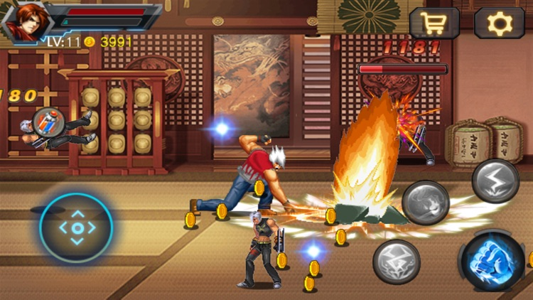 Ultimate Battle - Legendary Fighter screenshot-3