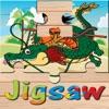 ドラゴンジグソーパズルは、子供のための無料オンラインゲームをパズル - 漫画のDBZスーパーヒーローzの戦闘教育学習 - iPhoneアプリ