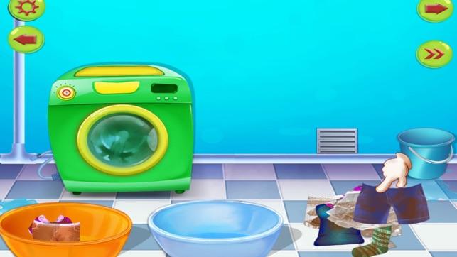 nettoyage de maison nettoyer la maison jeux et activit s de nettoyage dans ce jeu pour les. Black Bedroom Furniture Sets. Home Design Ideas