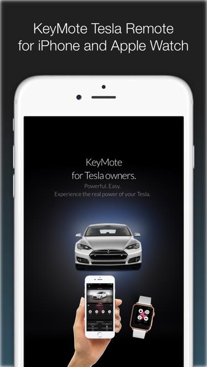 KeyMote - Remote for Tesla Model S & Model X screenshot-0