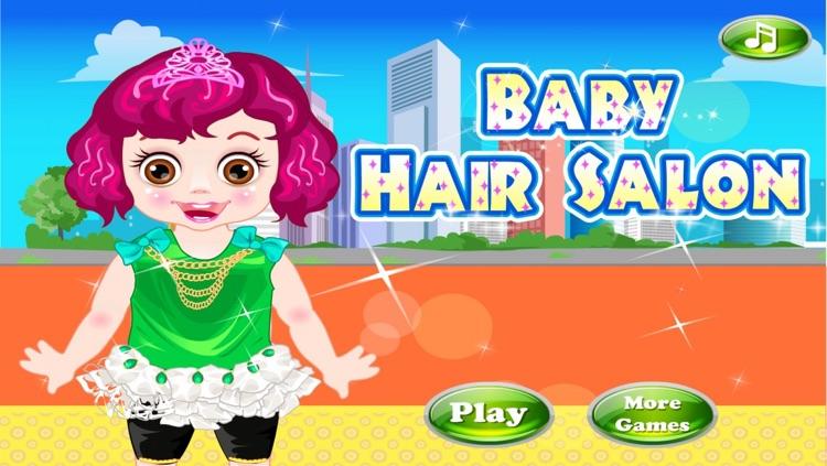 Little Cute Baby Hair Salon