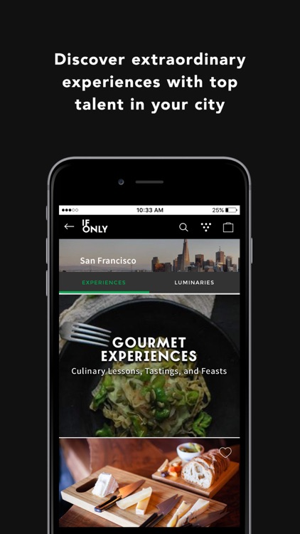 IfOnly - Access Local VIP Experiences, Activities, and Tours in San Francisco, Los Angeles, New York City