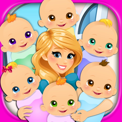 Newborn Baby Sextuplets - My Six New Baby Infant Care & Mommy Pregnancy Games