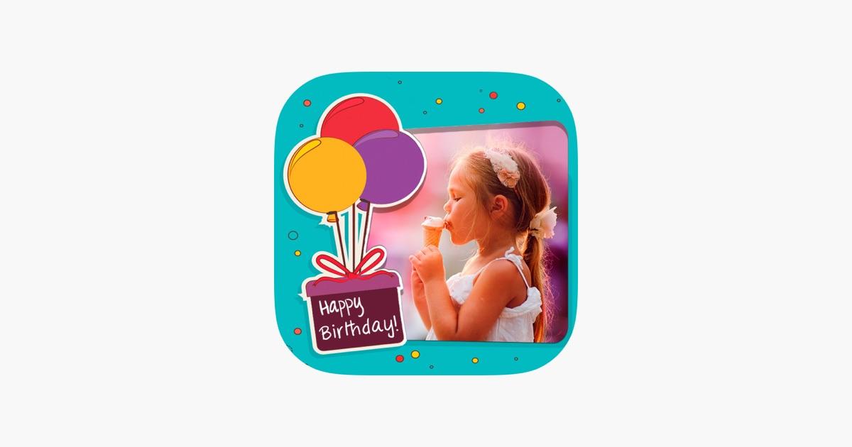 Marcos de fotos de cumpleaños – editor de imágenes y foto collage en ...